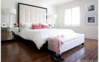 Обивка кровати как элемент декора