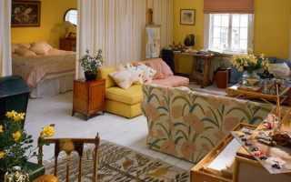 Дизайн спальни — гостиной: комбинируем две комнаты в одной