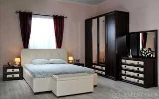 Стенка в спальню: необходимый элемент гарнитура