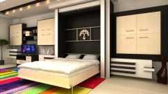 Как лучше разместить кровать в однокомнатной квартире