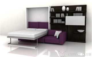 Кровать-трансформер для спальни — виды и особенности