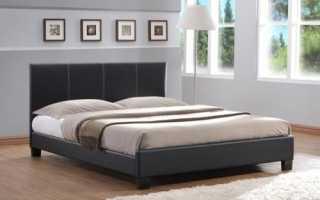 Двуспальные кровати из экокожи — роскошный элемент интерьера