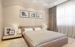 Бежевая спальня: удачные варианты применения