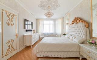 Особенности спальни в классическом стиле