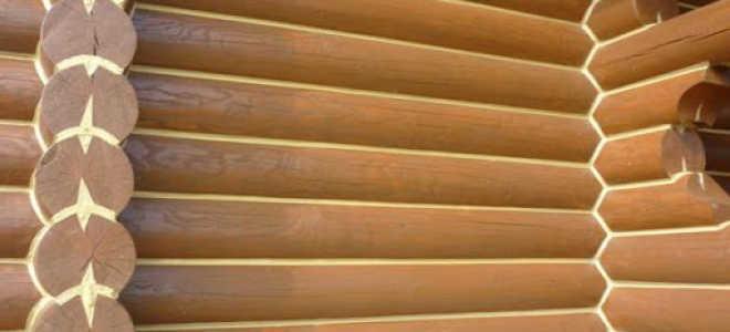 (Русский) Герметизация деревянного дома