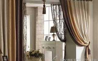 Используем шторы на дверной проем