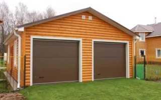 (Русский) Строительство гаража под ключ