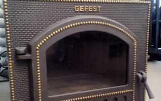 Чугунная банная печь Гефест 03 ЗК в России