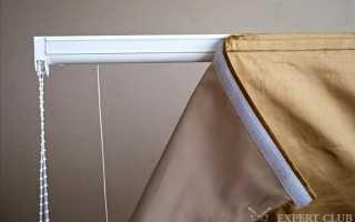 Шторы на липучках: использование в интерьере
