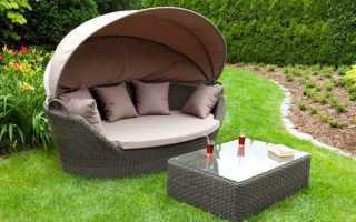 Преимущества мебели из искусственного ротанга