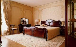 Спальня в стиле модерн – в гармонии с природой