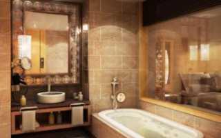 (Русский) Оформление ванной комнаты