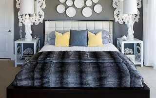 Красивое оформление стен в спальне: практические советы