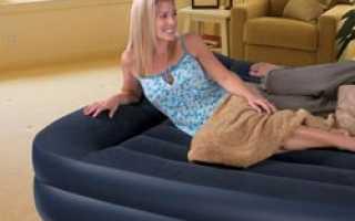 Двуспальная надувная кровать – это удобство и комфорт