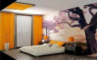 Дизайн спальни с фотообоями — небольшое руководство