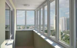 Преимущество остекления балконов