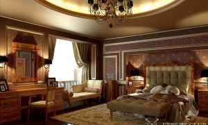 Дизайн спальни в классическом стиле — небольшое руководство