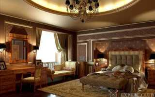 Дизайн спальни в классическом стиле – небольшое руководство