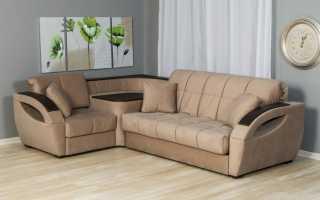 Угловой диван-аккордеон