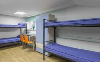 Общежития эконом-класса