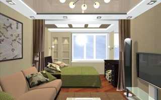 Совмещение гостиной и спальни: способы и советы по дизайну и ответы на вопросы