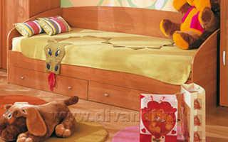 Как выбирать односпальные детские кровати