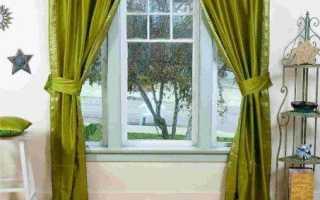 Зеленые шторы – идеальный вариант для любого помещения в доме