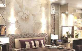 Как украсить стену в спальне: оригинальные идеи оформления интерьера