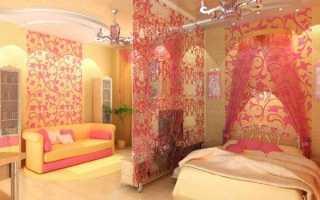 Зонирование спальни: разделяем интерьер правильно