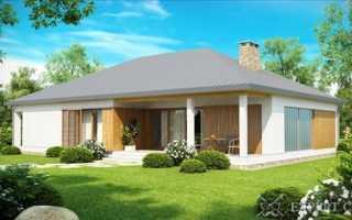 Одноэтажный дом с тремя спальнями: достоинства и особенности планировки