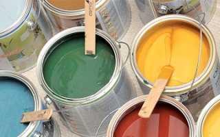 Как покрасить пробку латексной краской
