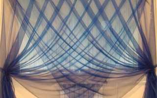 Органза для штор — элемент великолепия