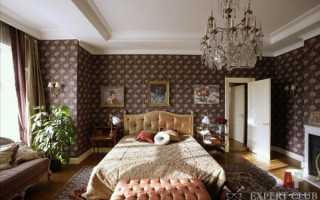 Спальня в английском стиле — показатель изысканного вкуса