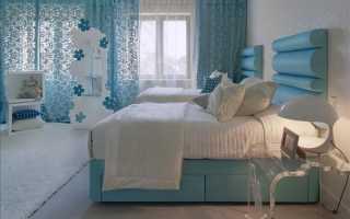 Бирюзовые шторы – безбрежное богатство цвета