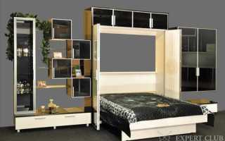Откидная кровать встроенная в шкаф: удобство и комфорт