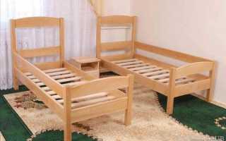 Разборная кровать как средство экономии пространства