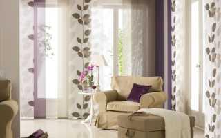 Панельные шторы в вашем доме