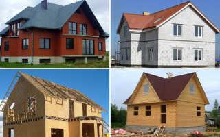 Из чего построить дом? Или топ 3 материалов для строительства