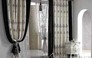 Межкомнатные шторы: разделяем спальню и другие комнаты