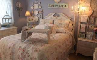 Спальня в стиле шебби шик своими руками