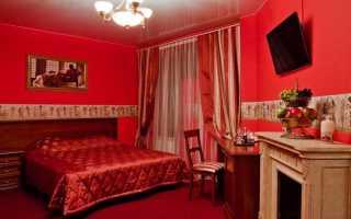 Красная спальня — интерьер, пропитанный страстью