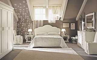 Дизайн спальни на мансарде — идеи и реализация