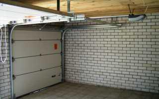 Изготовление и установка секционных ворот