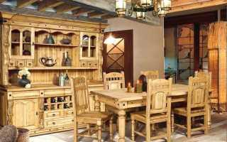 Мебель из дерева — лучшее решение для оформления интерьера