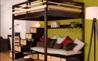 Двуспальная кровать-чердак: определяемся с выбором