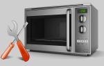Как ремонтировать свч-печь