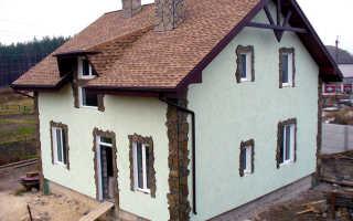 Акриловая штукатурка — утепление и отделка фасадов