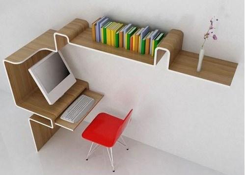 Креативный стол - полочка